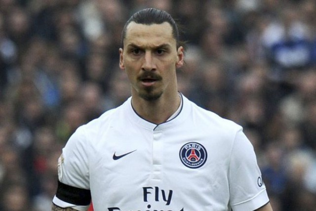 Zlatan Ibrahimovic... (PHOTO NICOLAS TUCAT, AFP)