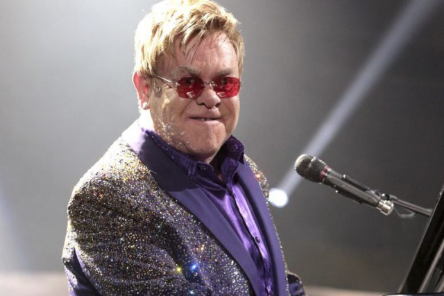 Elton John... (Photo Owen Sweeney, archives AP)
