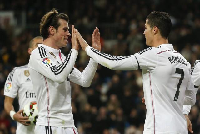 Gareth Baleet Cristiano Ronaldo... (PHOTO ANDREA COMAS, REUTERS)