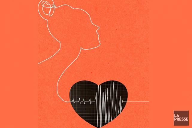 La Fondation des maladies du coeur et de l'accident vasculaire cérébral (AVC)... (Illustration Verónica Pérez-Tejeda, La Presse)