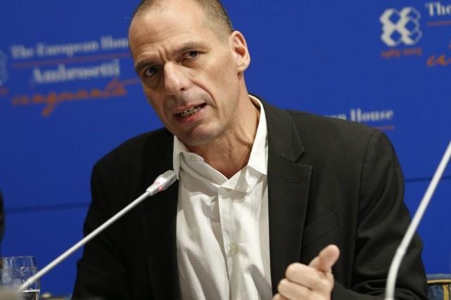 Le ministre grec des Finances, Yanis Varoufakis.... (Photo Luca Bruno, AP)