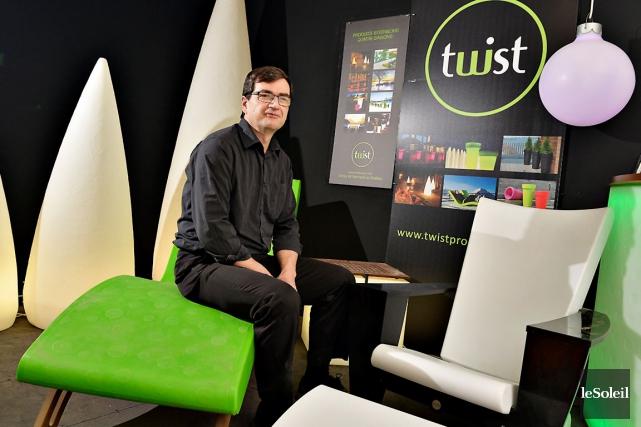 Bernard Juneau, président de Twist Production, qui conçoit... (Le Soleil, Patrice Laroche)