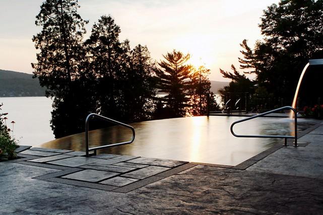 Le projet Le paradis de l'eau a été... (Fournie par l'Association des paysagistes professionnels du Québec)