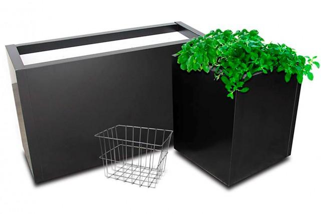 Les boîtes à jardiner de la compagnie Matexpert... (Photo fournie par Matexpert)