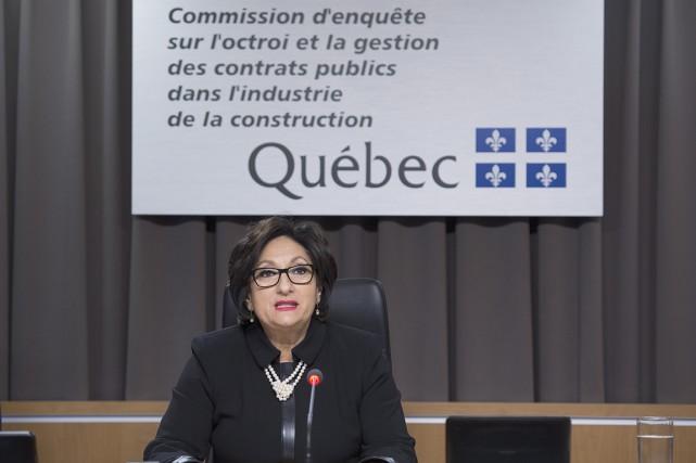 Le rapport final de la Commission est attendu... (Photo d'archives, La Presse Canadienne)