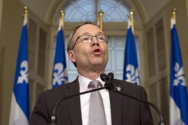 Le président du Conseil du trésor, Martin Coiteux.... (Archives La Presse Canadienne)