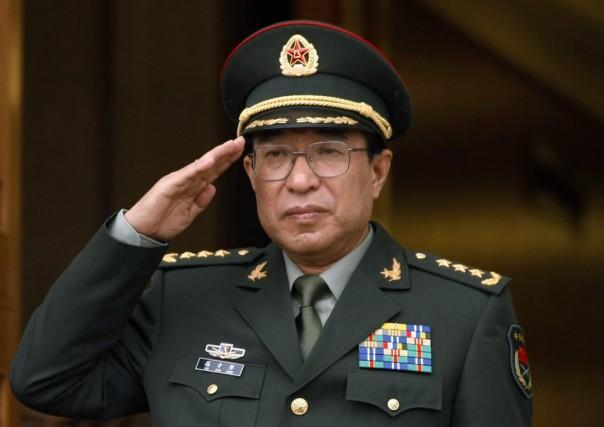 Le général Xu Caihouest décédé d'un cancer.... (Photo Kevin Lamarque, Reuters)