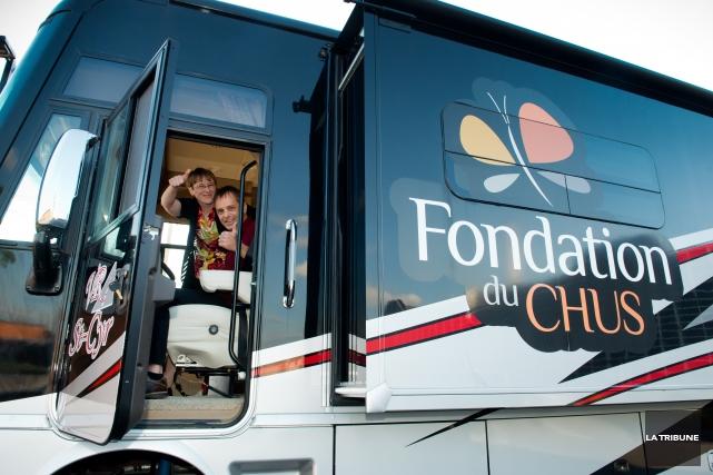 Pas moins de 16 fondations navigueront autour du futur Centre intégré... (Archives La Tribune, Jessica Garneau)