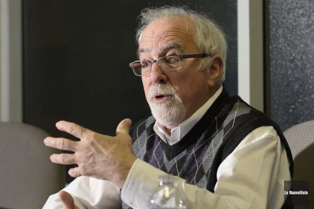 René-Paul Fournier fut vice-recteur à l'UQTR de 2002... (Photo: Sylvain Mayer, Le Nouvelliste)
