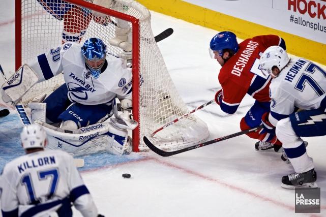 Le Canadien a subi une troisième défaite en... (Photo André Pichette, La Presse)