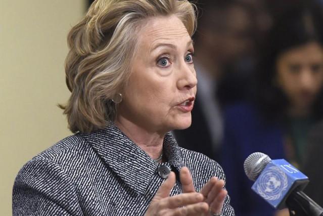 Hillary Clinton n'est certes pas la première personnalité... (PHOTO DON EMMERT, AFP)