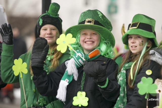 Une ambiance festive à l'irlandaise s'est emparée d'Ottawa... (Martin Roy, LeDroit)