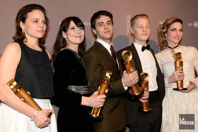 Le film Mommy de Xavier Dolan a presque... (PHOTO CHARLES LABERGE, COLLABORATION SPÉCIALE)
