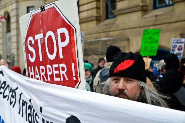 Le projet de loi C-51 pourrait bien avoir une autre cible que les terroristes,... (Martin Roy, LeDroit)