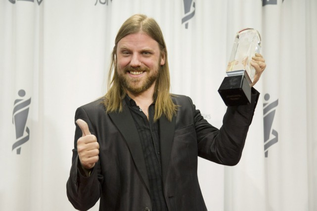 Le Trifluvien Steve Hill a remporté le Juno... (Photo: La Presse Canadienne)