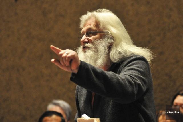 Robert Duchesne, qui a participé à quelques reprises... (Photo: Émilie O'Connor, Le Nouvelliste)