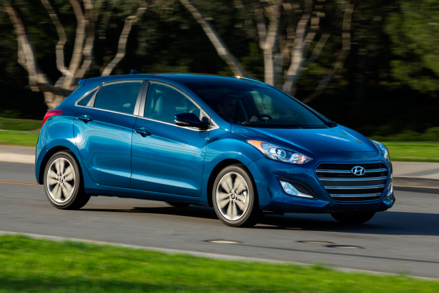 L'Elantra GT... (Photo fournie par Hyundai)