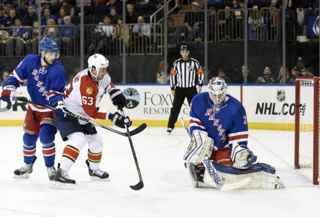 Cam Talbot a repoussé 38 tirs et les Rangers de New York ont signé une 14e... (Associated Press)