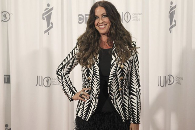 Alanis Morissette aux Juno Awards.... (Photo: Reuters)