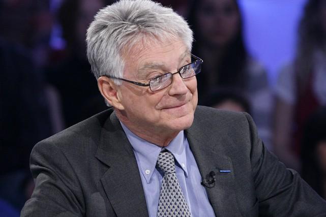 Gilles Proulx, lors d'une parution à Tout le... (PHOTO ARCHIVES RADIO-CANADA)