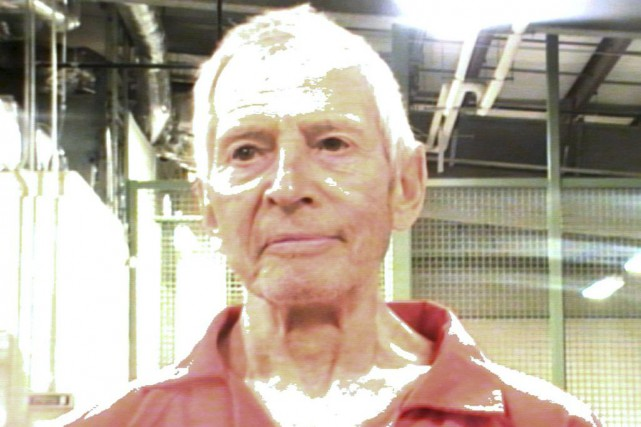 Robert Durst a été interpellé samedi dans un... (PHOTO AFP/ORLEANS PARISH SHERIFF'S OFFICE)