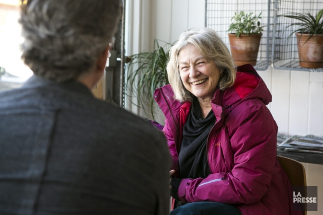 La comédienne et cinéaste Micheline Lanctôt l'avoue: «Je... (Photo: Hugo-Sébastien Aubert, La Presse)