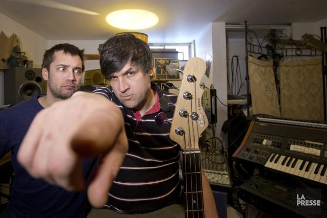 Jean-François Nadeau (à gauche) et Stéfan Boucher.... (Photo: Ivanoh Demers, La Presse)