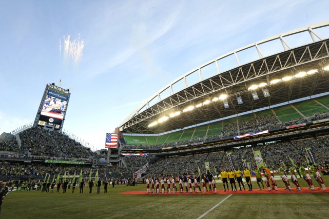 Les Sounders affichent les meilleures foules de la... (Photo Ted S. Warren, AP)