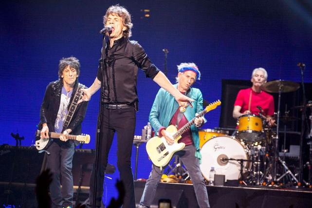 Les Rolling Stones entreprendront le 24 mai une tournée nord-américaine qui... (Photo: archives AP)