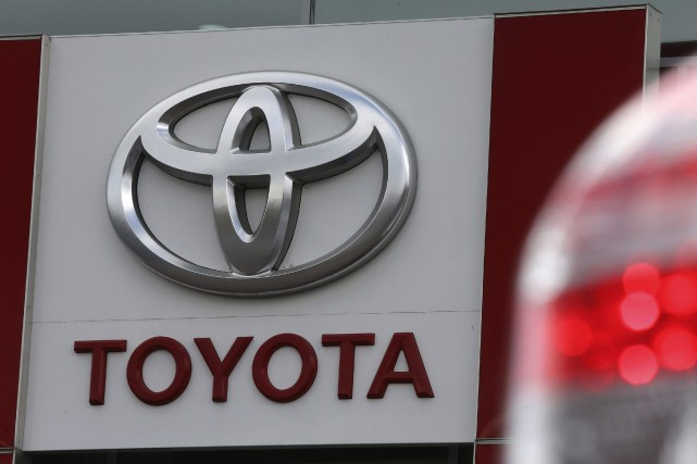 L'action de Toyota a battu mardi à la Bourse de Tokyo son précédent record... (Photo Alexander Demianchuk, archives Reuters)