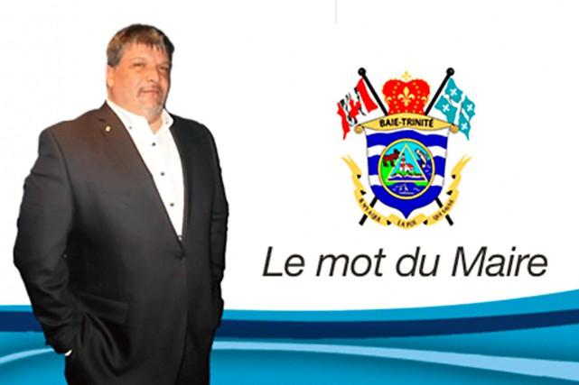 Denis Lejeune a été réélu malgré une accusation... (Photo tirée du site Internet de la municipalité de Baie-Trinité)