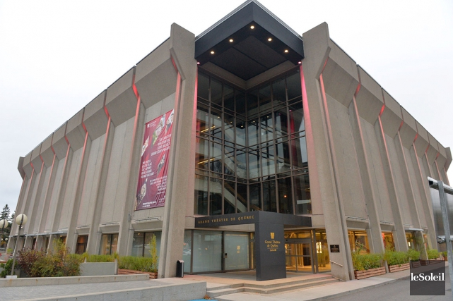 Le Grand Théâtre de Québec... (Photothèque Le Soleil, Pascal Ratthé)