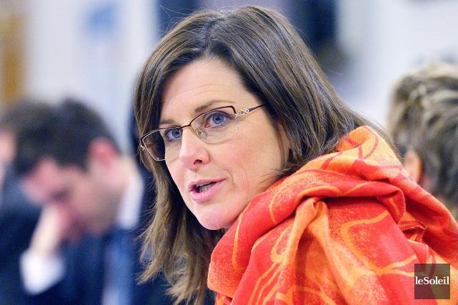 La ministre de la Justice et de la... (Le Soleil, Jean-Marie Villeneuve)