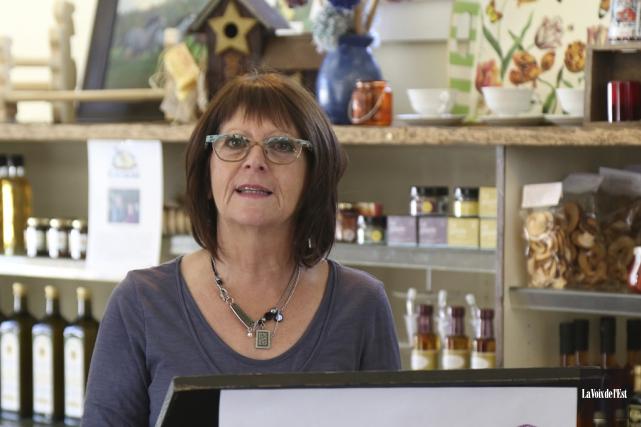 La directrice par intérim de Commerce et tourisme... (photo Janick Marois, archives La Voix de l'Est)