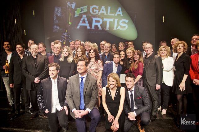 En tout, 66 artistes se partagent les nominations... (La Presse, André Pichette)