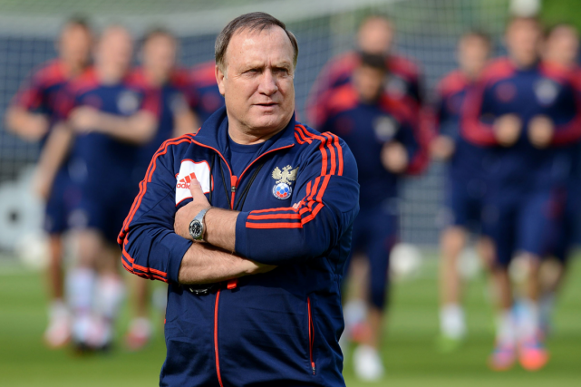 Dick Advocaat... (Photo Natalia Kolesnikova, archives AFP)