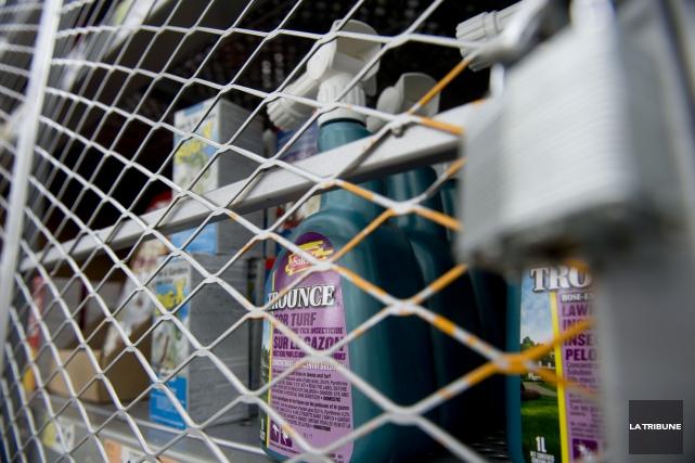 La Ville de Sherbrooke vise à interdire l'utilisation des pesticides autres que... (Archives La Tribune, René Marquis)
