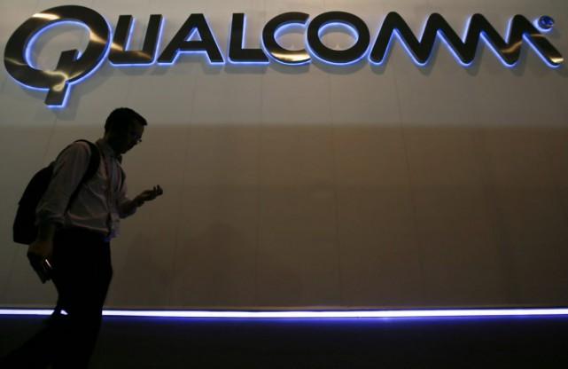 Qualcomm, fabricant américain de semi-conducteurs, a écopé d'une... (PHOTO ALBERT GEA, REUTERS)