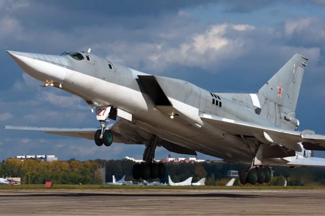 Des bombardiers stratégiques Tupolev 22-M3 seront déployés en... (Photo fournie par Wikipédia)