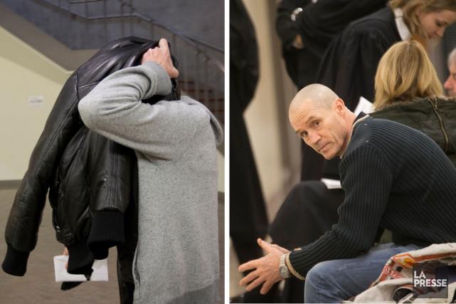 Six ans après leur arrestation, la vingtaine d'accusés,... (PHOTOS IVANOH DEMERS, LA PRESSE)