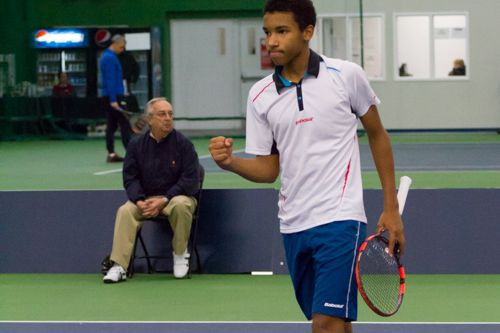 Auger Aliassime... (Photo fournie)
