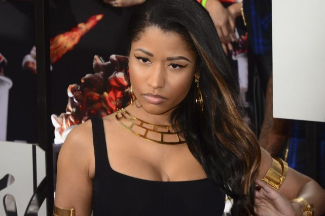 Nicki Minaj... (Photo: archives AFP)