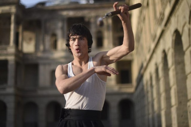 Abbas Alizada, le «Bruce Lee afghan»... (Photo: AFP)