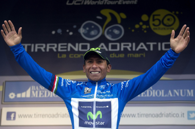 Nairo Quintana... (Photo Claudio Peri, AP)
