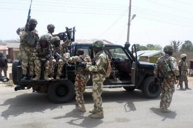 Cette opération militaire a pour but d'anéantir le... (PHOTO AFP/ARMÉE NIGÉRIENNE)