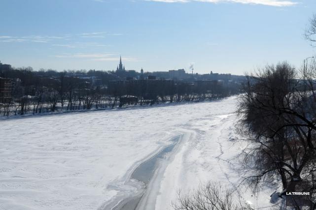 L'état des rivières traversant la ville de Sherbrooke s'est-il détérioré au... (Imacom, René Marquis)