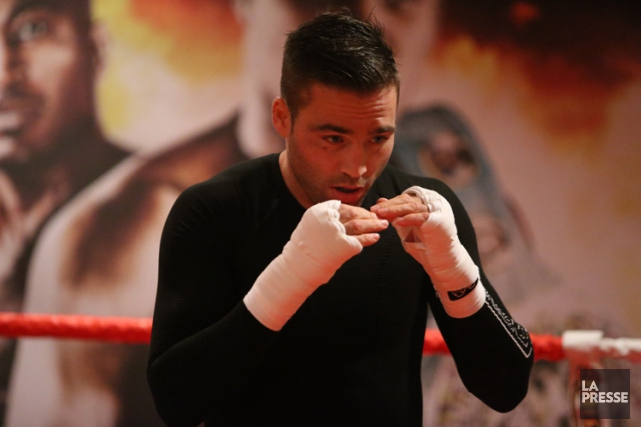 L'ex-boxeur Antonin Décariea été champion nord-américain WBO (NABO)... (Photo: Martin Chamberland, archives La Presse)