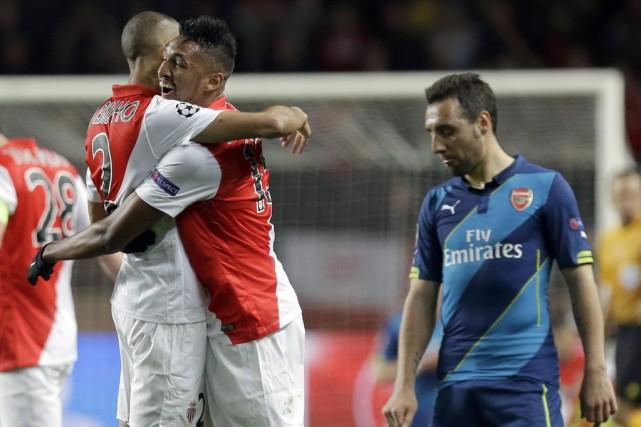Une semaine après Paris, Monaco s'est qualifié pour les quarts de finale de la... (Photo: AP)
