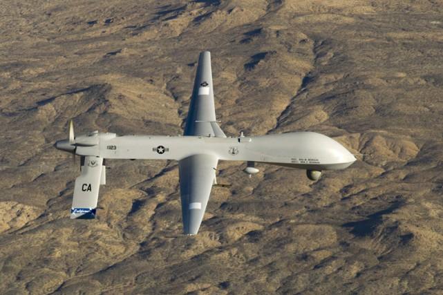 Un drone MQ-1 Predator non armé.... (Archives Reuters)