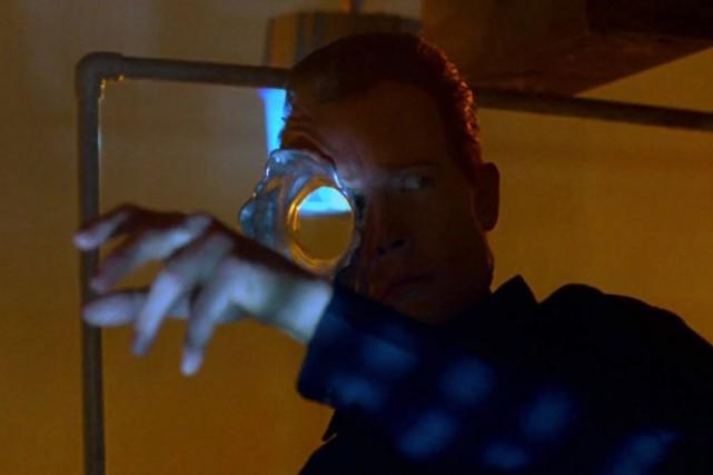 Robert Patrick incarne le T-1000 dans Terminator 2.... (Photo: WikiCommons)